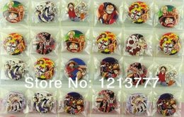 Wholesale sets Japan anime one piece cartoon cosplay Badge Button pin cm random
