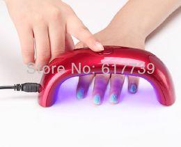 Wholesale New Pro red W LED uv Lamp Nail Dryer for UV Gel Nail Polish