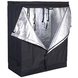 48 x 24 x 60 дюймов Внутренняя комната для выращивания палаток Отражательная нетоксичная хижина