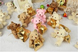 Wholesale Wedding Party Valentine s Gifts Favor Candy Boxes Case Bag Sweet Honey Cute Bear Coin Bag