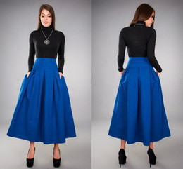 Cheap Women Long Midi Skirt | Free Shipping Women Long Midi Skirt ...