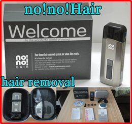 Wholesale NEW No No Hair Pro Pro5 Levels Smart Women s Hair Epilator Professional Hair Removal Device Unisex for Face Body Upper Lip