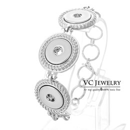 Wholesale Vocheng NOOSA New Interchangeable Jewelry Metal Button Ginger Snap Jewelry Vb