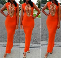 Wholesale 2015 Beaded With Crystals Column Sleeveless Orange Satin Robe Dubai Abaya Arabic Kaftan Moroccan Women s Clothing Muslim Evening Dresses
