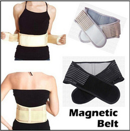 Wholesale 2015 hot Health Care Magnetic Slimming Lower Back Support Waist Lumbar Brace Belt Strap Backache Pain Relief