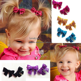 Wholesale Baby Hair Clips Children Hair Accessories Kids Sequin Bow Barrettes Hair Slides Baby Hair Accessories Girl Hair Clips Childrens Accessories