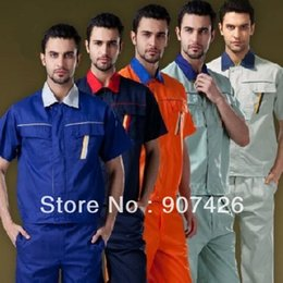 Wholesale EXW low price New style work clothes work uniform set