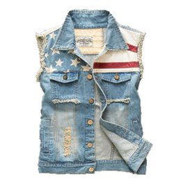 Discount Blue Jean Jacket Vest For Men | 2017 Blue Jean Jacket ...