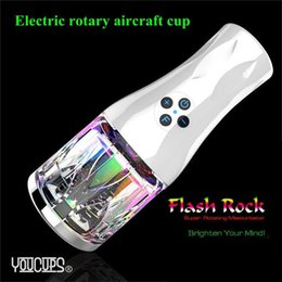 Wholesale Electric Rotary Male Masturbator Aircraft Cup Masturbation Cup Sex Machine Fleshlight Artificial Vagina Real Pussy Sex Toy For Men