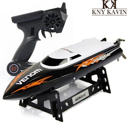 Free shipping UDI001 2.4G high quality remote control speed boat 2CH RC boat 150m Control Distance HT833