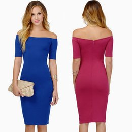 Discount Tight Strapless Knee Length Dress  2017 Tight Strapless ...