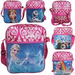 Wholesale 2015 New Hot sale Mochila Frozen Kids Children Travel Backpack Shoulder Bags School Bags for teenagers Christmas Best Gifts