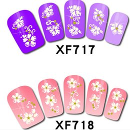 Wholesale Fashion Nail decals Solid nail stick d nail decals