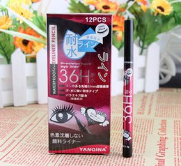 Wholesale 2015 hot selliing makeup H Pen Liner waterproof eyeliner Long Lasting Eye Makeup Cosmetic DHL FREE