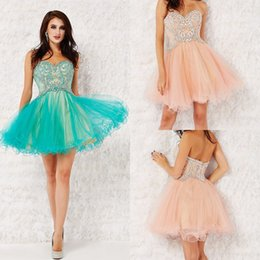 Short puffy cocktail dresses