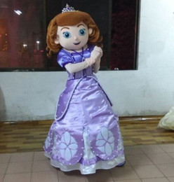 Wholesale Fancytrader Top Sale Real Picture Sofia Mascot Costume Fancy Dress