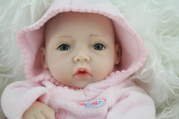 Wholesale top popular inches Mini silicone baby doll full vinyl newborn baby girl doll handmade lifelike baby toys