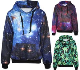 Wholesale 2015 Autumn Winter Galaxy Print Punk Men Hoodies With Pocket And Hat Digital Cartoon Print Sweatshirt Sky Despicable me Minions