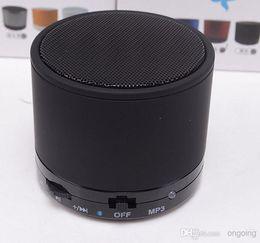 лучшие продажи S10 Bluetooth Выступающие S11 S10 Мини спикер Беспроводные портативные динамики HI-FI музыкальный плеер Главная аудио для iPhone 5 Iphone 4