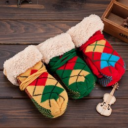 Wholesale New Arrival Fall Winter warmth child hairy mouth gloves bunk thicker warmth with rope Children Gloves cm