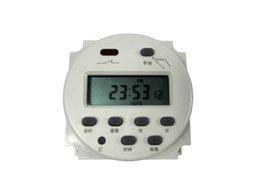 CN101A Digital LCD Power semanal programable interruptor de temporizador electrónico 220V 110V 12V 24V con cubierta protectora