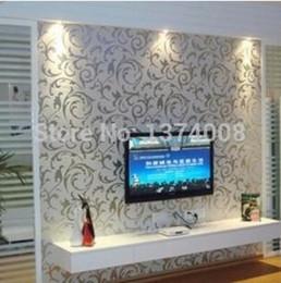 2015 new fashion luxury 1pcs 10x045m pvc bedroom living room decorative furniture refurbished stickers self adhesive wallpaper bedroom furniture sticker style