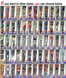 Wholesale New style tattoo sleeves Prevent bask in cuff tattoo sleeves big arms sleeves arm warmers