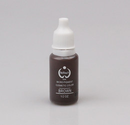 Wholesale BioTouch Permanent Makeup Pigment Tattoo Ink Set ML BROWN Micro Pigment Used for Microblade Pen Machine Tattoo Inks