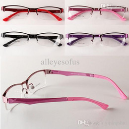 womens glasses frames x10u  Womens Eyewear Half Rim Eyeglasses Frame Optical Glasses Myopia Glasses  womens optical frames outlet