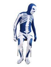 Wholesale New Arrival Factory Direct Quick Delivery Skeleton Pattern Lycra Spandex Unisex Zentai Suit