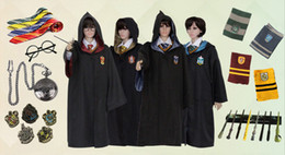 Fasion Cosplay Custume Harry Potter Custume Academismo Cachecóis Ties Plus Size Harry Potter Tema frete grátis Custome