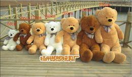 Wholesale 200cm three colors big teddy bear skin coat plush toy stuffed toys baby toy birthday gifts Christmas gifts vgbi7