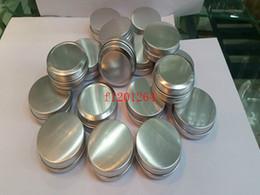Wholesale g g Aluminum Lip Gloss Container ml L ml Lipstick Box Metal Jar Lip balm Cosmetic Packaging