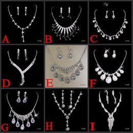 Wholesale Elegant Bridal Accessories Hot Cheap Bridal Jewelry styles ON SALE Luxury Jewelry for Wedding Events