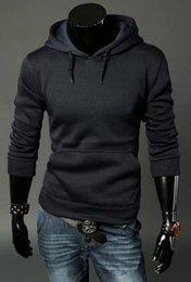 Wholesale winter autumn new men s clothes korean simple fashion boomer mens loose Set head sweaters coat