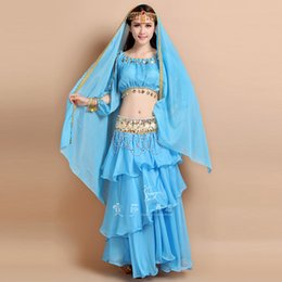 Wholesale Belly dance set new India dance performance to suit India s tribal costumes dress