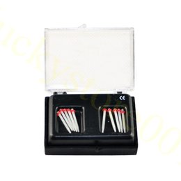Wholesale Dental Endo straight Fiber Posts Tips Drill Thread Glass ProTaper Files Red Color Wholeasle Price