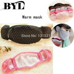 Wholesale Winter Warm Earmuffs Mask Ear Cover Seal Face Mask Multi Function Earmuffs
