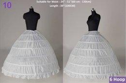 Wholesale 2015 New Arrival Cheap Price Bridal Petticoat White Wedding Dress hoop Crinoline Slips Underskirt Hoop Petticoat