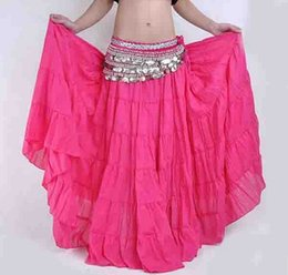 Wholesale 10pcs Tribal Gypsy Belly Dance Dress Bohemian Skirt Womens Costume Accessories Yoga mixed colors