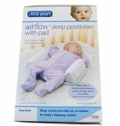 Wholesale Baby Infant Sleep positioner Anti Roll Pillow With Sheet Cover Baby Infant Newborn Sleep positioner Anti Roll Pillow D4049