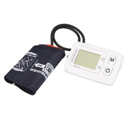 Wholesale New Health Experts LCD Automatic Digital Wrist Upper Cuff Arm Blood Pressure Monitor Tester Heart Beat Pulse Meter BA E0213
