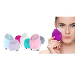 Wholesale New Rechargeable Foreo Luna Mini Ultrasonic Beauty Instrument Super Facial Cleaner Waterproof Charge Electric Lun Foreo Brightening Cleaning
