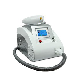 Wholesale TOUCH SCREEN LASER TATTOO REMOVAL HINE Q SWITCHED ND YAG LASER BEAUTY DEVICE FOR SCAR ACNE nm nm BD LS