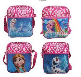 Wholesale 2015 New Children s Bags Frozen Messenger Bags for Girls Frozen Princess Elsa Handbags Kids Single shoulder bags Children s school bags