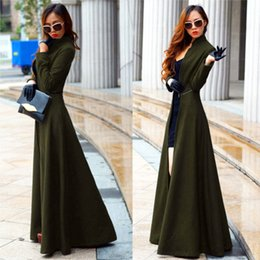Discount Full Length Wool Women Coats | 2017 Full Length Wool ...