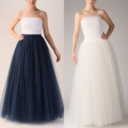 Wholesale Fashion Simple Women Skirts layersTulle Skirt Floor Length Adult Long Tutu Tulle Skirt A Line Plus Size Long Skirts