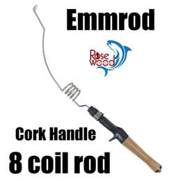 Wholesale Emmrod canne à pêche pour la pêche à la glace pêche à la mouche pêche à l appât coulée à la tonnelle tige à roche avec sac set mini pistolet de pêche lure mer