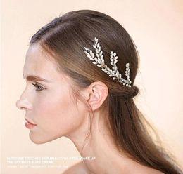 Wholesale 2016 Bridal Headpiece Hair Accessory Hair Wear orgeous Crystal Wedding Bridal Tiaras Crown Wedding Hair Jewelry CPA463