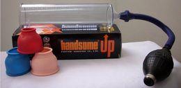 Wholesale Handsome UP Penis Pump Male Sex Penis Multi Function Silicon Penis enlargement extender for men
